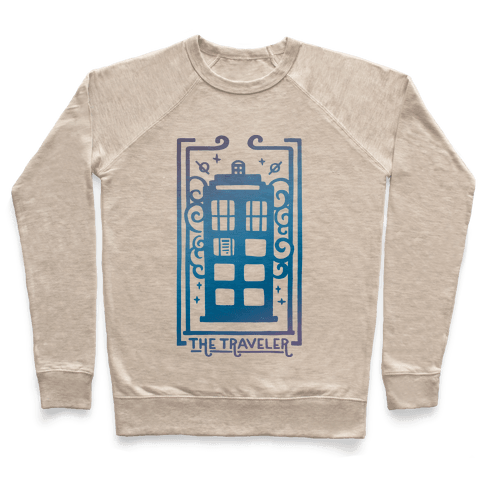 Time Traveler Tarot Pullover