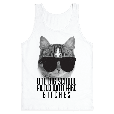 Fake Girls Tank Top