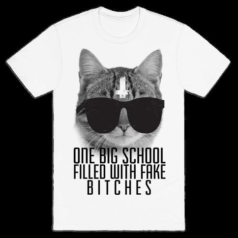 Fake Girls Mens T-Shirt