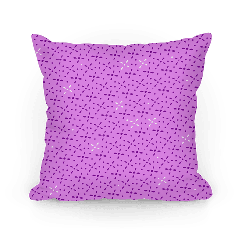 Purple Abstract Floral Pattern
