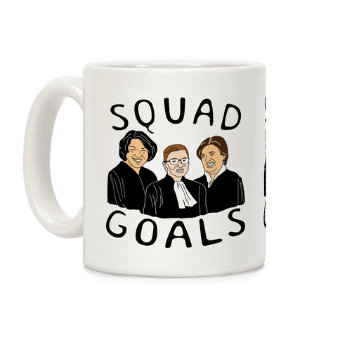Squad Goals Coffee Mug