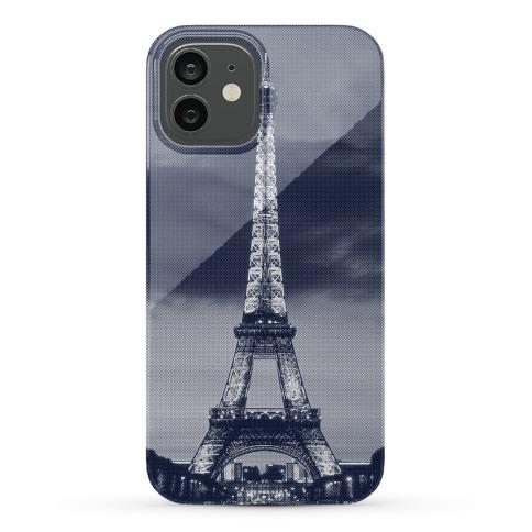 Eiffel Tower Case (Navy) Phone Case