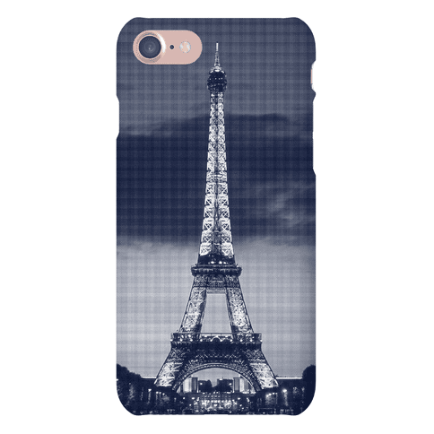 Eiffel Tower Case (Navy) Phone Case