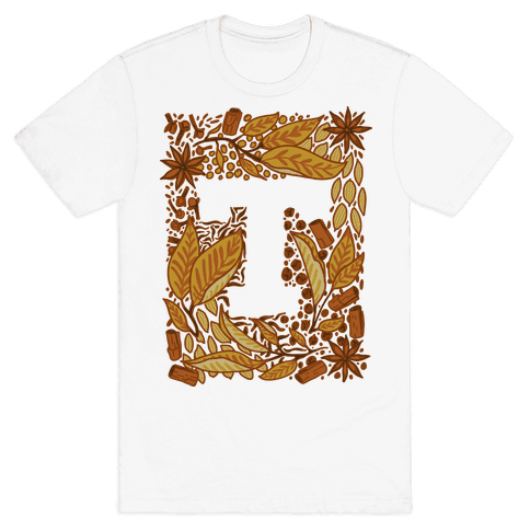 The Letter Tea Mens T-Shirt