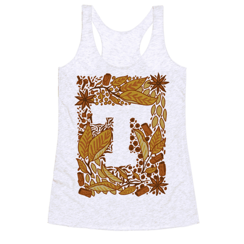 The Letter Tea Racerback Tank Top