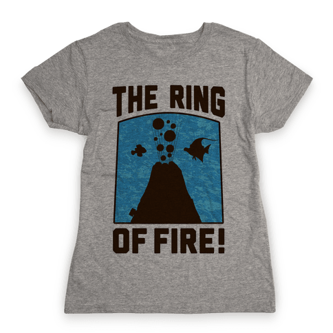 The Ring of Fire Womens T-Shirt