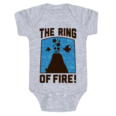 The Ring of Fire Baby Onesy