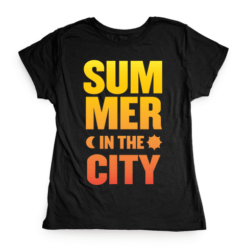 Summer In The City Womens T-Shirt