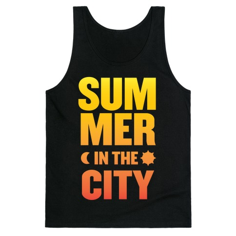 Summer In The City Tank Top