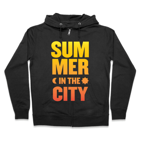 Summer In The City Zip Hoodie