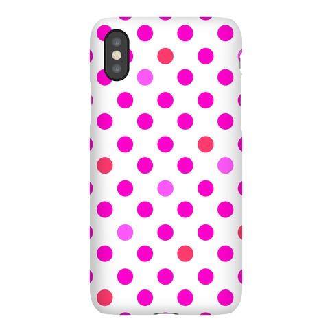 Pink Polka Dots Phone Case