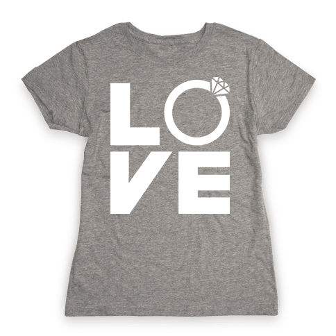 L (Ring) V E Womens T-Shirt