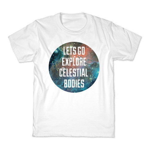 Celestial Bodies Kids T-Shirt