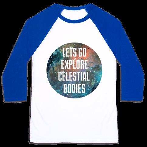 Celestial Bodies Baseball Tee