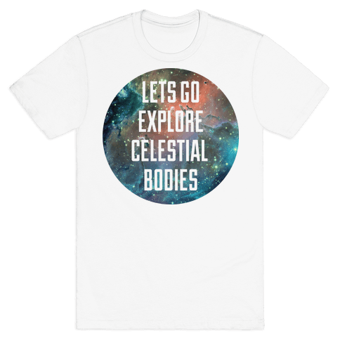 Celestial Bodies Mens T-Shirt