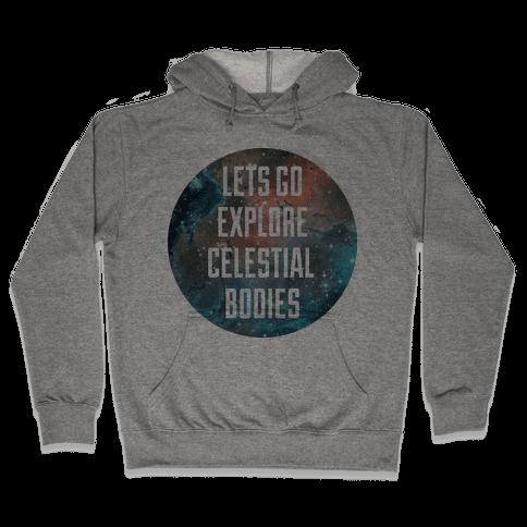 Celestial Bodies Hooded Sweatshirt