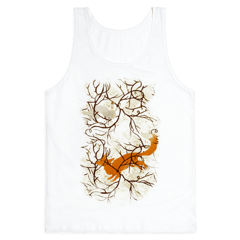 Rabbit And The Fox Chase Tank Top