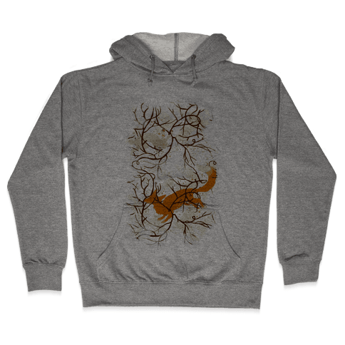 Rabbit And The Fox Chase Hooded Sweatshirt