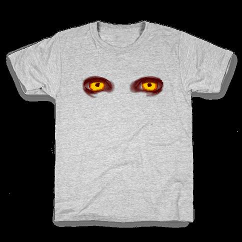 Rage Virus Eyes Kids T-Shirt