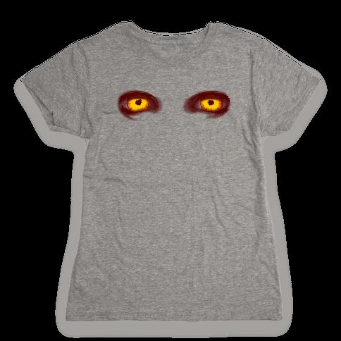 Rage Virus Eyes Womens T-Shirt