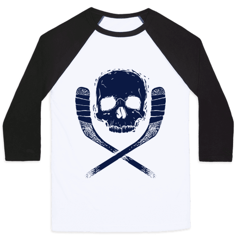 Hockey Roger Baseball Tee