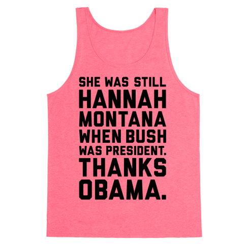 Thanks Obama Tank Top