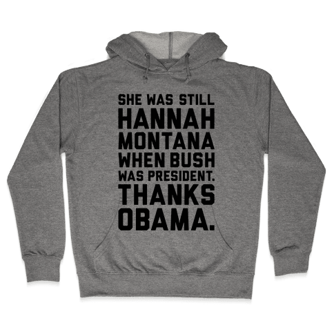 Thanks Obama Hooded Sweatshirt