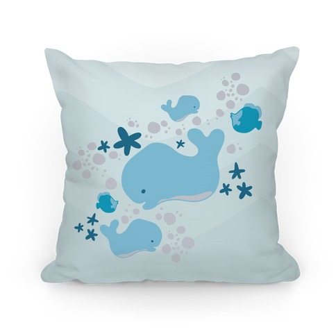 Whale Pillow Pillow