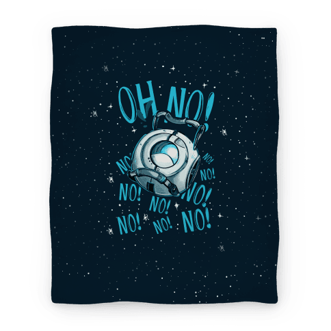 Oh No! (Wheatley) Blanket