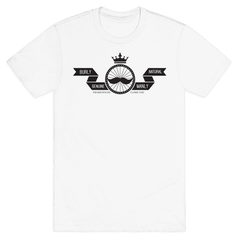 The Chic Stache' Mens T-Shirt