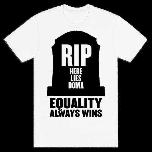 RIP DOMA Mens T-Shirt