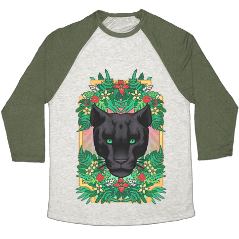 Lurking Panther Baseball Tee
