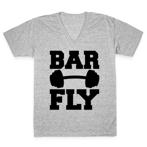 Bar Fly V-Neck Tee Shirt