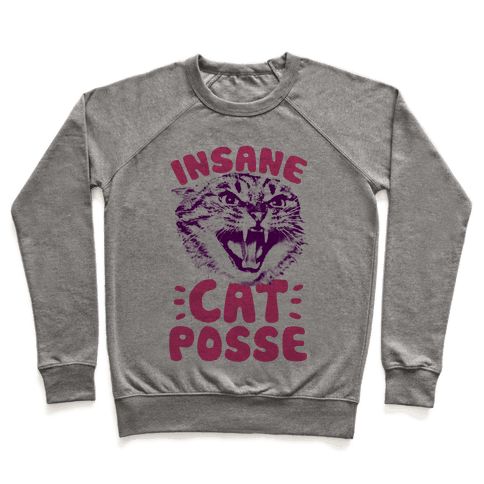 Insane Cat Posse Pullover