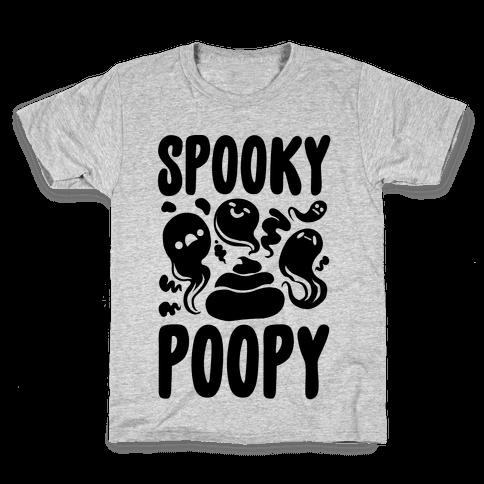 Spooky Poopy Kids T-Shirt