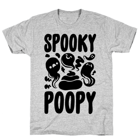 Spooky Poopy Mens T-Shirt