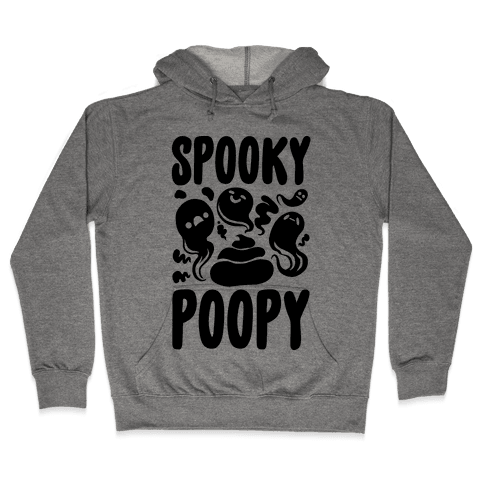 Spooky Poopy Hooded Sweatshirt
