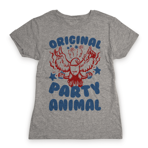 Original Party Animal Womens T-Shirt