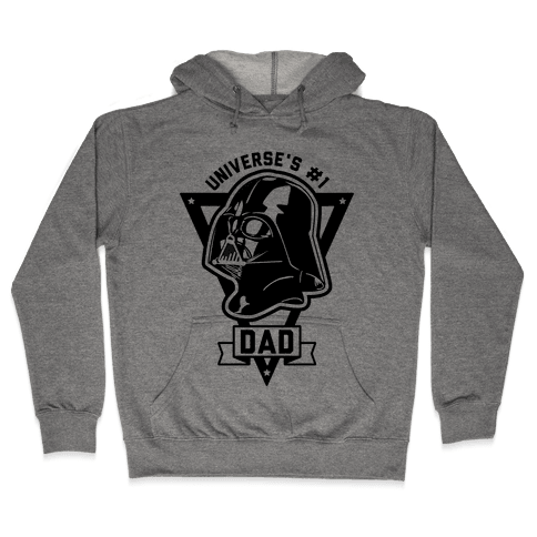 Darth Dad Hooded Sweatshirt