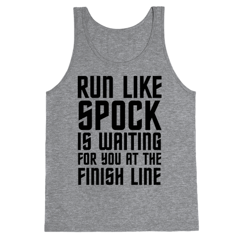 Run Like Spock Tank Top