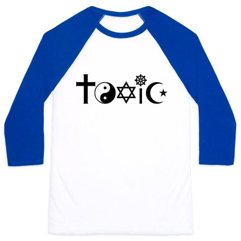 Toxic Religion Baseball Tee