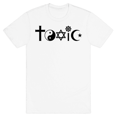 Toxic Religion Mens T-Shirt