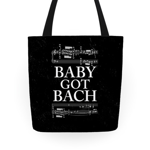 Baby Got Bach Tote