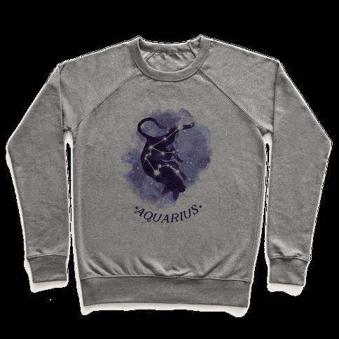 Cat Zodiac: Aquarius Pullover