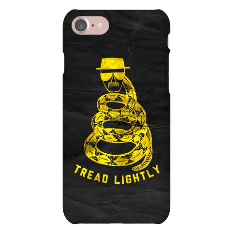 Breaking Bad Tread Lightly Phone Case