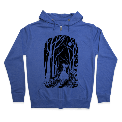 Ghost In The Woods Zip Hoodie