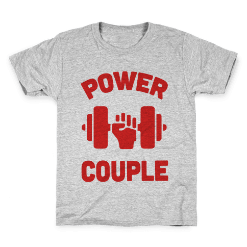 Power Couple Kids T-Shirt