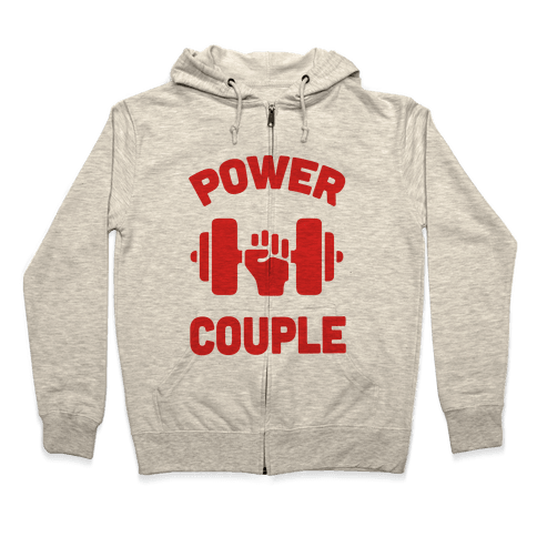 Power Couple Zip Hoodie