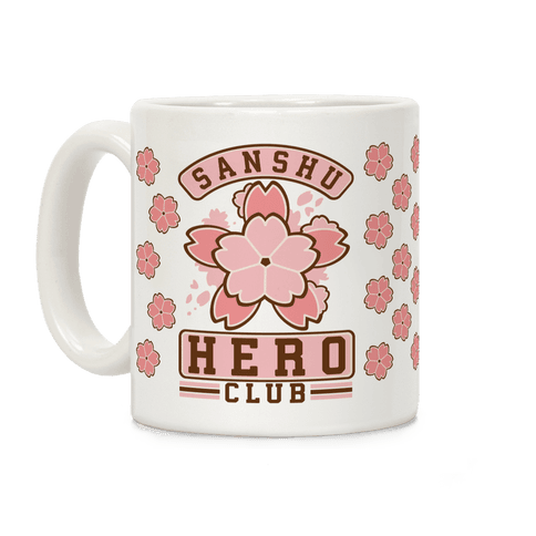 Sanshu Hero Club Coffee Mug
