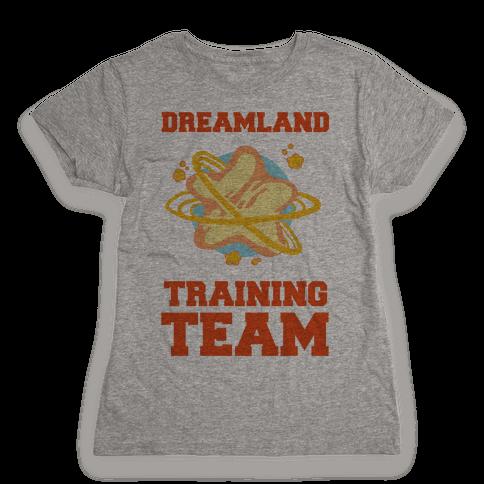 Dreamland Fitness Team Womens T-Shirt